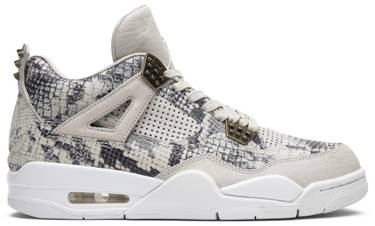 buy popular 35159 19f9f Air Jordan 4 Retro Premium  Snakeskin