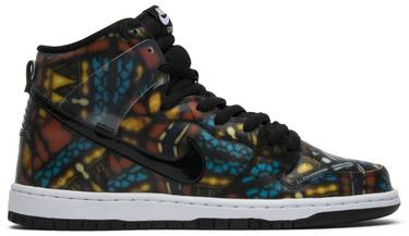 best website 7f04b 3db19 Concepts x SB Dunk High  Stained Glass . Nike