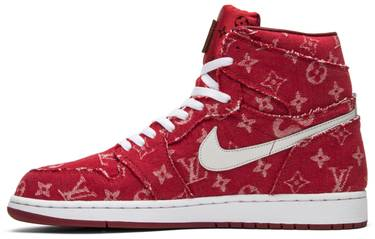 the best attitude d713a 3e680 Supreme x Louis Vuitton x Red Ribbon Recon x Air Jordan 1 Retro High