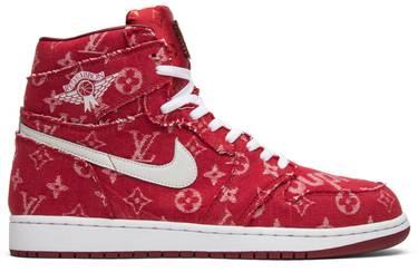 b2f41181a77fe1 Supreme x Louis Vuitton x Red Ribbon Recon x Air Jordan 1 Retro High ...