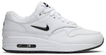 7adc3a10c2 Air Max 1 Premium SC Jewel 'White Black' - Nike - 918354 103 | GOAT