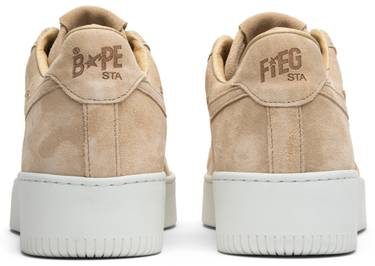 42bde66474df Ronnie Fieg x A Bathing Ape Bapesta  Sand  - A Bathing Ape - BA1000 ...