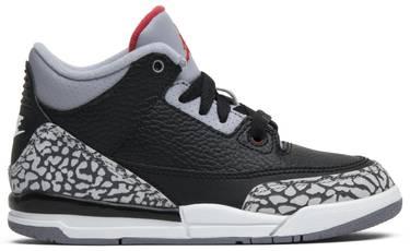 5ecfcfb49231 Air Jordan 3 Retro OG PS  Black Cement  2018 - Air Jordan - 429487 ...