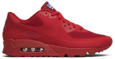bcb81161 Air Max 90 Hyperfuse QS 'USA' - Nike - 613841 660 | GOAT