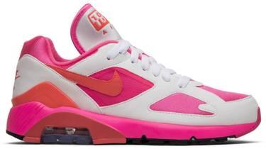 official photos 376da 363b0 Comme des Garçons x Air Max 180  White Pink . Nike