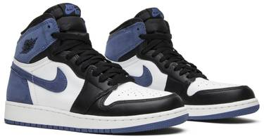 detailed look e4e10 f4cf2 Air Jordan 1 Retro High OG BG 'Blue Moon'