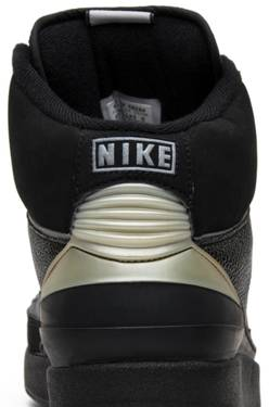 new style 686ff 7957a Air Jordan 2 Retro 'Black Chrome' 2004 - Air Jordan - 308308 ...