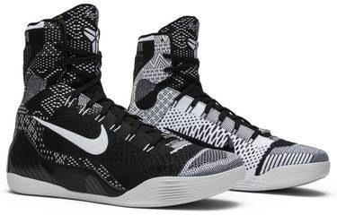 best sneakers 313b3 dbf0e Kobe 9 Elite  Black. Nike