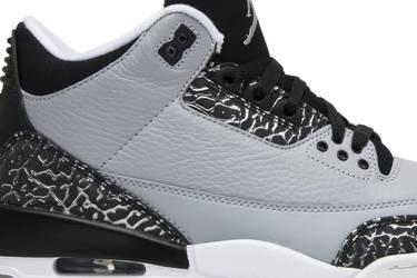 fa8817840d4 Air Jordan 3 Retro 'Wolf Grey' - Air Jordan - 136064 004 | GOAT