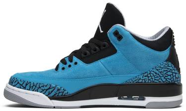 new styles 0a979 b100f Air Jordan 3 Retro  Powder Blue