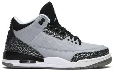 huge discount 600e7 7c183 Air Jordan 3 Retro 'Wolf Grey'