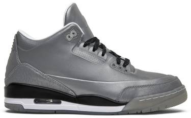 new product beb28 39016 Air Jordan 3 5Lab3 'Reflective Silver'
