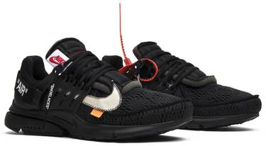 e962c81dcb6 OFF-WHITE x Air Presto  Black  - Nike - AA3830 002