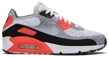09e3cd3c9680b Air Max 90 Ultra 2.0 Flyknit 'Infrared' - Nike - 875943 100 | GOAT