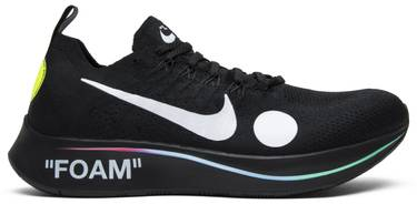 089cdae3b422 OFF-WHITE x Zoom Fly Mercurial Flyknit  Black  - Nike - AO2115 001 ...