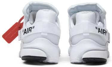 46c2305dc OFF-WHITE x Air Presto  White  - Nike - AA3830 100