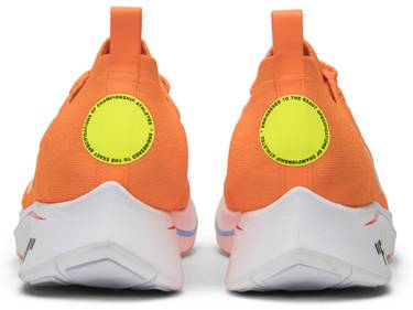 21aa810fbb01 OFF-WHITE x Zoom Fly Mercurial Flyknit  Total Orange  - Nike ...