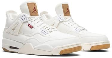 outlet store e30f4 767d1 Levi's x Air Jordan 4 Retro 'White Denim'