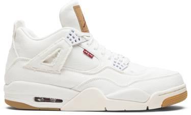 outlet store d2595 ef6a5 Levi's x Air Jordan 4 Retro 'White Denim'