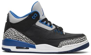 on sale 8dff9 82930 Air Jordan 3 Retro 'Sport Blue'