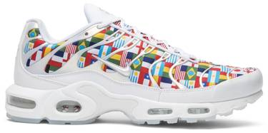 Air Max Plus  International Flag  - Nike - AO5117 100  557aaf62b