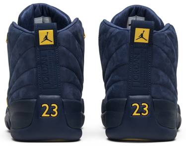 premium selection bbcb3 28f65 Air Jordan 12 Retro  Michigan