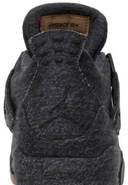 check out 67477 a9751 Levi's x Air Jordan 4 Retro 'Black Denim'