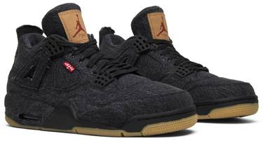 check out aa8c4 8748e Levi's x Air Jordan 4 Retro 'Black Denim'
