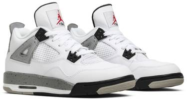 a30f46dbf35 Air Jordan 4 Retro OG BG 'Cement' 2016