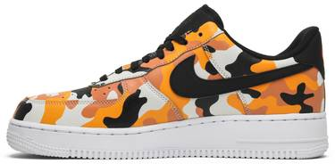 0d78764e7b903 Air Force 1 07 LV8 'Orange Camo' - Nike - 823511 800 | GOAT