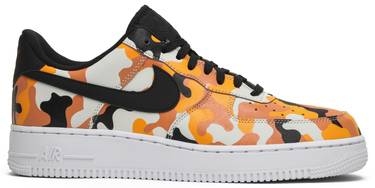 8504335f59f63 Air Force 1 07 LV8 'Orange Camo' - Nike - 823511 800 | GOAT