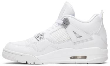 best service 66761 022bc Air Jordan 4 Retro BG  Pure Money