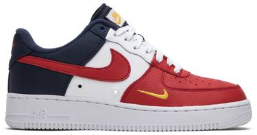 official photos 6f8a4 cdd60 Air Force 1 Low '07 LV8 '4th of July' - Nike - 823511 601 | GOAT