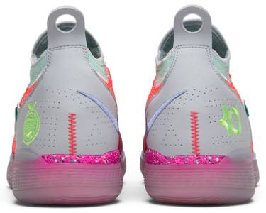 fe7bb3b0c91e Zoom KD 11  EYBL . Kevin Durant s 11th signature shoe features the classic Peach  Jam colorway to celebrate Nike s ...