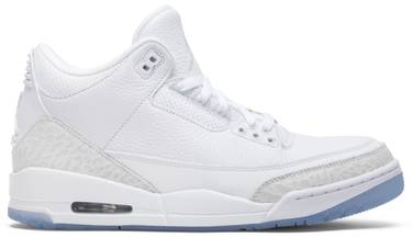 release date 7a27d 560d6 Air Jordan 3 Retro 'Triple White'