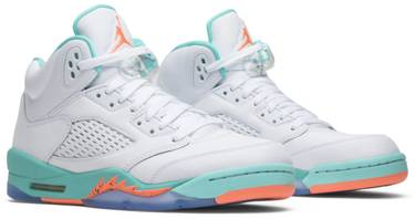 brand new b3fc9 1bf90 Air Jordan 5 Retro GS 'Light Aqua'