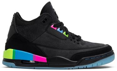 hot sale online 8ce73 90a2e Air Jordan 3 Retro SE GS 'Quai 54'