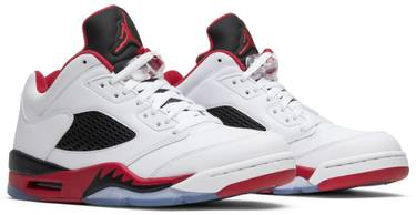 the latest 65856 4e88b Air Jordan 5 Low 'Fire Red' 2016
