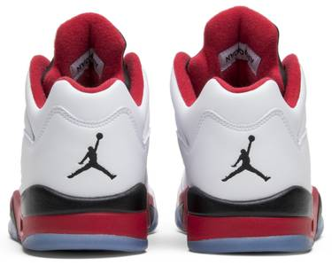 the latest 69633 c6e36 Air Jordan 5 Low 'Fire Red' 2016