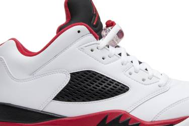 the latest 8015a a66af Air Jordan 5 Low 'Fire Red' 2016