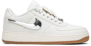 8e9e9926190f5b Travis Scott x Air Force 1  Sail  - Nike - AQ4211 101