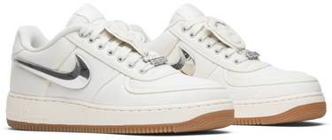 new styles d810e b39c5 Travis Scott x Air Force 1  Sail . Nike