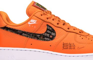 sale retailer 63b7e 0a358 Air Force 1 Low 'Just Do It'
