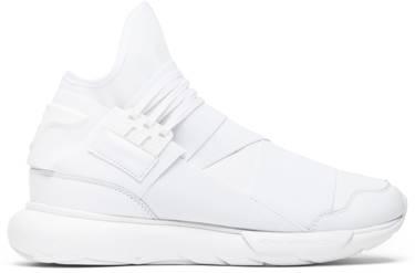 b2897641b4121 Y-3 Qasa High  Triple White  - adidas - AQ5500