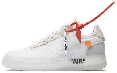 brand new 4ff3f f5992 OFF-WHITE x Air Force 1 Low 'The Ten'