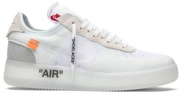 nike x off white air force 1