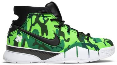 quality design 531bc d7678 Undefeated x Zoom Kobe 1 Protro  Green Camo  PE