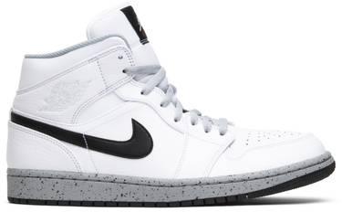 987bf0c04ecb Air Jordan 1 Mid  White Cement  - Air Jordan - 554724 115