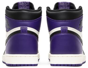 78a356a8462 Air Jordan 1 Retro High OG 'Court Purple' - Air Jordan - 555088 501 ...