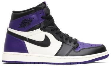 Air Jordan 1 Retro High OG  Court Purple  - Air Jordan - 555088 501 ... 8ca454e96